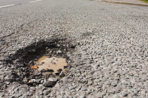 Pothole Filling in Hankham BN24