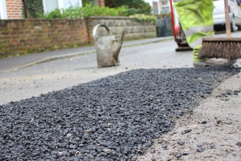 Pothole Repair Experts in Hungerford Newtown